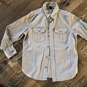 Gap boys cotton chamois shirt never worn!